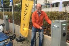 Fotograaf: Utrecht Sustainability Institute Michiel Scherrenburg, projectmanager Duurzaamheid, Universiteit Utrecht. Michiel heeft een grote rol gespeeld in het realiseren van het living lab op het Utrecht Science Park.